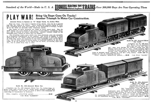 A The Set You Have Was First Listed In Lionel S 1917 Catalog Under Headline Play War Two Sets Were Produced Each With Diffe Cars
