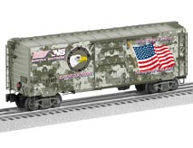 NS Patriotic Boxcar