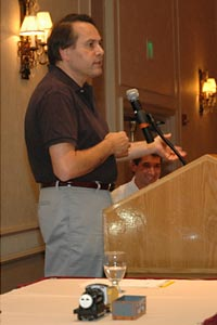 Lionel President and CEO Jerry Calabrese presided over the Lionel Seminar Q&A session within the LCCA Convention at Denver in July, 2006.