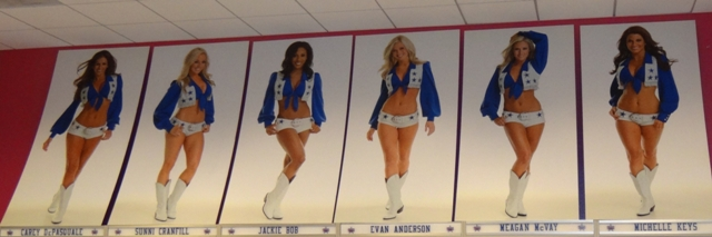 Dallas Cowboys Cheerleaders (Dallas Cowboys Stadium)