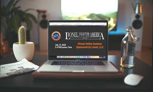July 13, 2020  Lionel, LLC Sponsors Virtual Online Seminal for LCCA